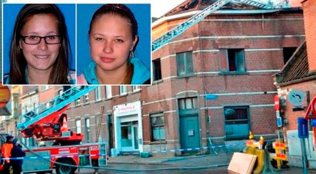 Dace Zarina and Sara Gibadlo died in a fire in their accommodation in Leuven