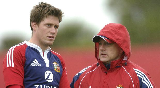 Eddie O'Sullivan was one of Clive Woodward's assistant coaches during the 2005 tour of New Zealand