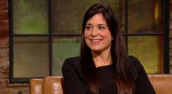 Stefanie Preissner on the Late Late Show