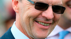 Aidan O'Brien. Photo: PA Wire