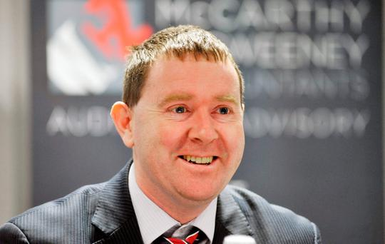 Seamus Coffey, the chairman of the Fiscal Council