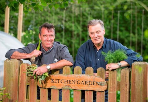 Chefs Kevin Dundon and Derry Clarke. Photo: Patrick Browne