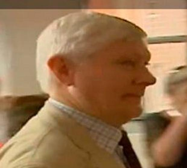 Accused landlord Malachy Vallely. Credit: RTE