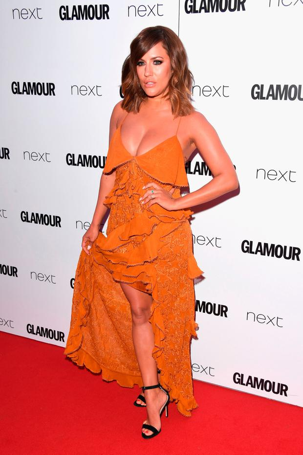 Caroline Flack attends the Glamour Women of The Year awards 2017 at Berkeley Square Gardens on June 6, 2017 in London, England. (Photo by Stuart C. Wilson/Getty Images)