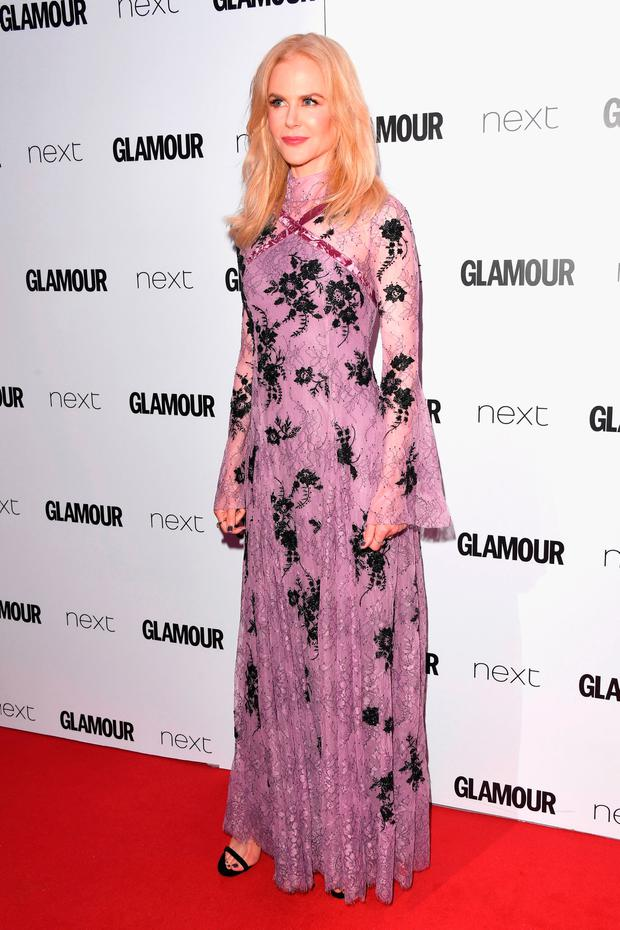 Nicole Kidman attends the Glamour Women of The Year awards 2017 at Berkeley Square Gardens on June 6, 2017 in London, England. (Photo by Stuart C. Wilson/Getty Images)