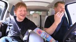 Ed Sheeran on Carpool Karaoke