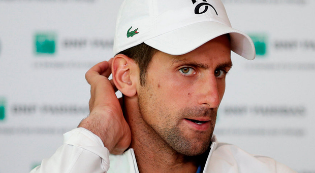Djokovic: Knocked out. Photo: Reuters