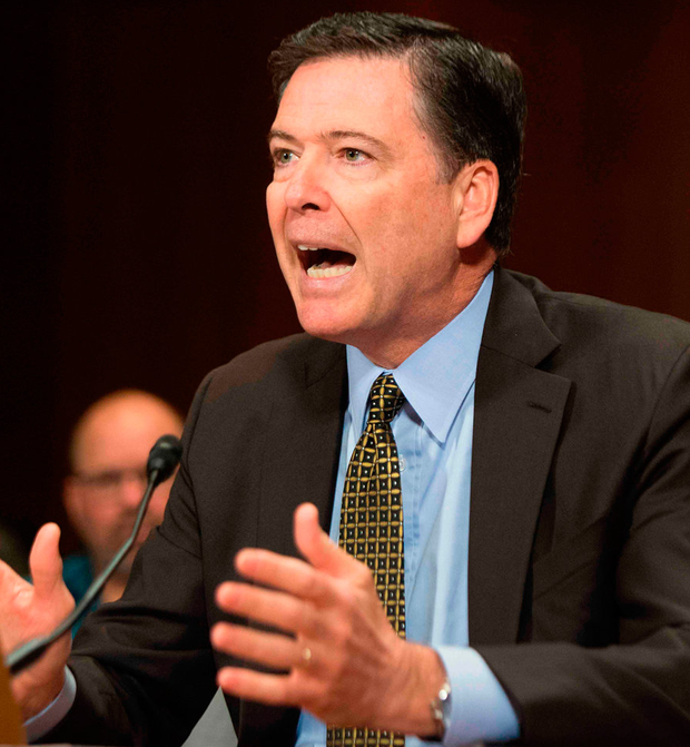 James Comey: Trump administration 'defamed' me and Federal Bureau of Investigation with 'lies'