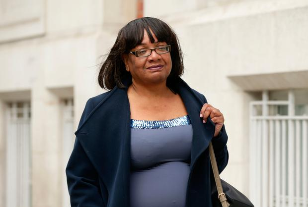 Diane Abbott Picture: PA