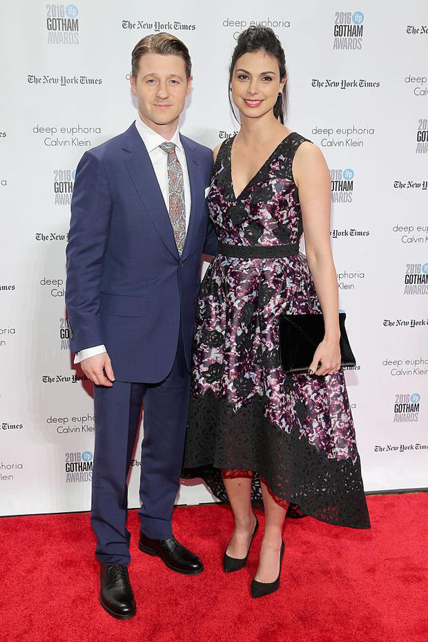 Ben McKenzie and Morena Baccarin attend IFP's 26th Annual Gotham Independent Film Awards at Cipriani, Wall Street on November 28, 2016 in New York City. (Photo by Jemal Countess/Getty Images for IFP)