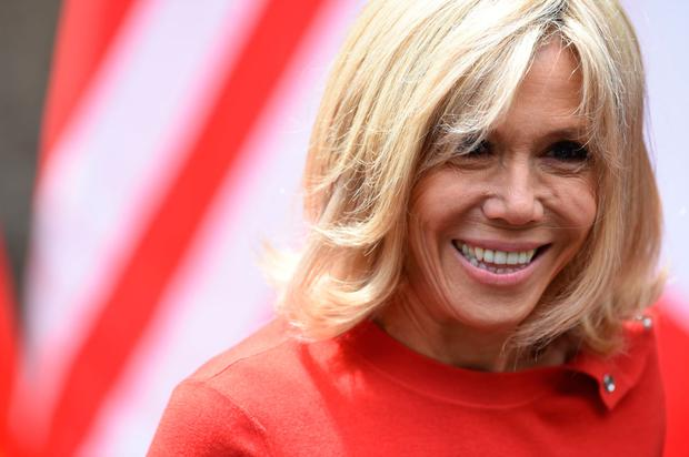 How French First Lady Brigitte Macron Is Becoming A Style Icon For A