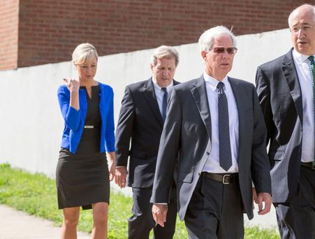 Thomas and Molly Martens arriving at Davidson County court house (Picture:Mark Condren)