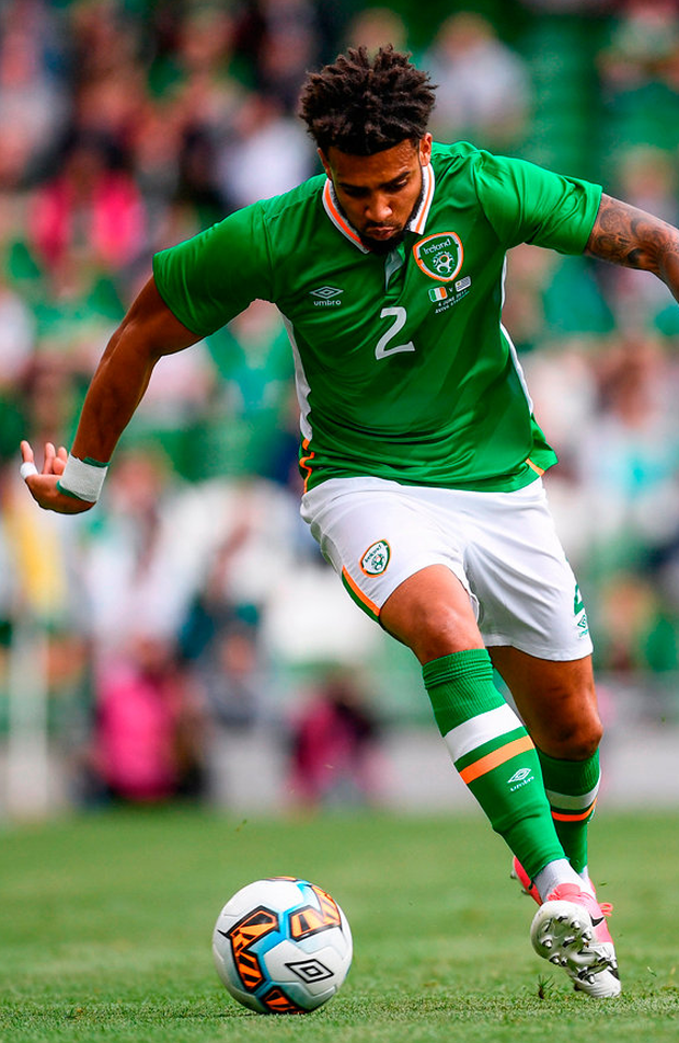Cyrus Christie has filled in. Photo: Sportsfile