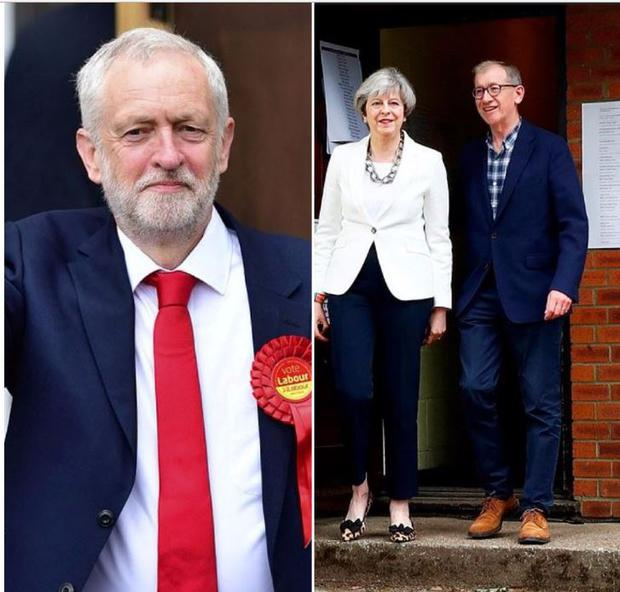 Votes were cast on June 8 - seven weeks after PM Theresa May called a snap election