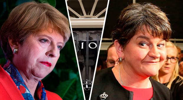 Arlene Foster's DUP hold the keys to 10 Downing Street