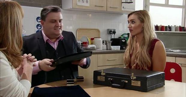 Simon Delaney on Coronation Street