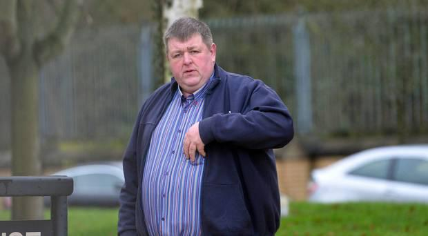 Antrim farmer James Steele at a previous court appearance (File photo)