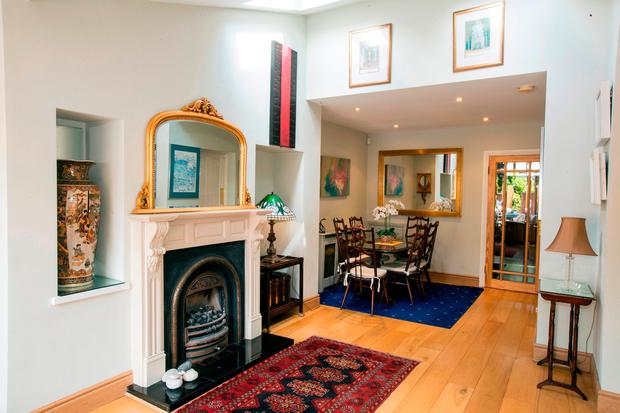 The dining area at 166 Rathgar Road, Dublin 6