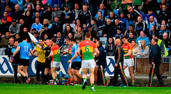 The Diarmuid Connolly incident against Carlow