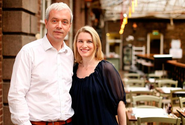 Pamela is actively involved in husband Ronan Ryan's thriving food business. Photo: Gerry Mooney