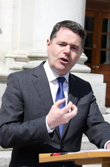 DEAL: Paschal Donohoe. Picture: Tom Burke