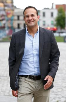 ACTION MAN: The new all-running, cycling and swimming Leo Varadkar cuts a very different figure from how he looked in 2010