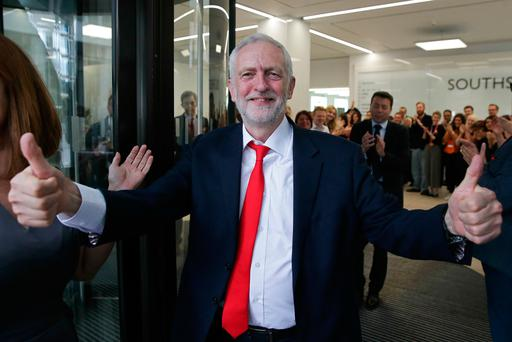 Corbyn inspired a new generation of younger and first time voters. Photo: Getty Images