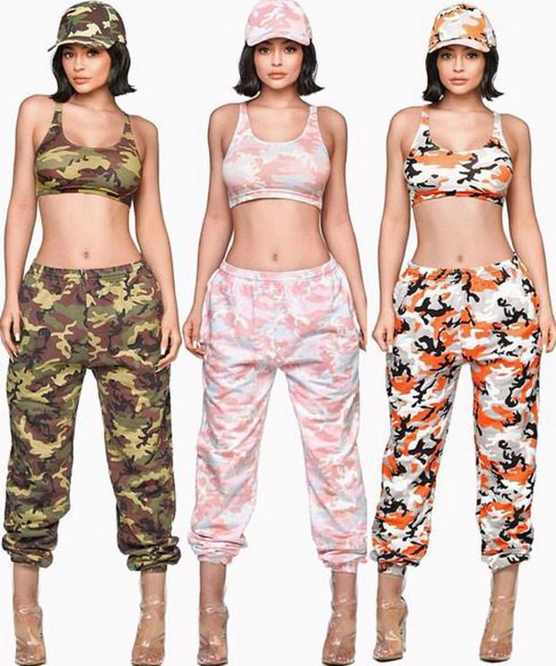 Kylie Jenner's Camo Collection