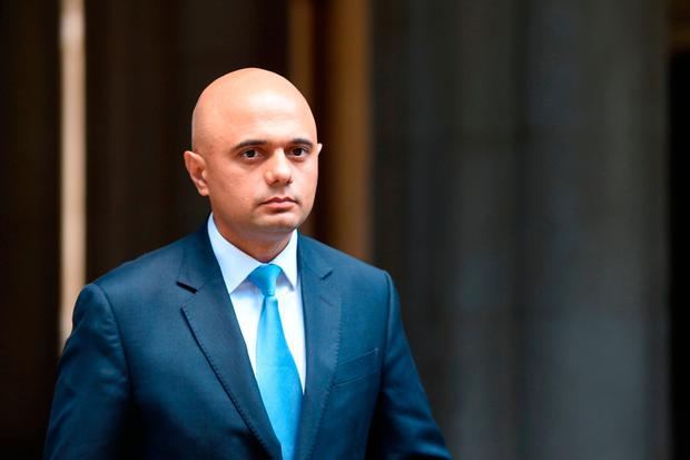 Communities Secretary Sajid Javid arrives at Downing Street in London. PRESS ASSOCIATION Photo. Picture date: Sunday June 11, 2017. See PA story POLITICS Reshuffle. Photo credit should read: David Mirzoeff/PA Wire