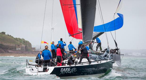 Tony Ackland's Dark Angel won the Division 0 national title in the Irish Cruiser championships at the Royal Cork Yacht Club. Photograph: David Branigan/Oceansport