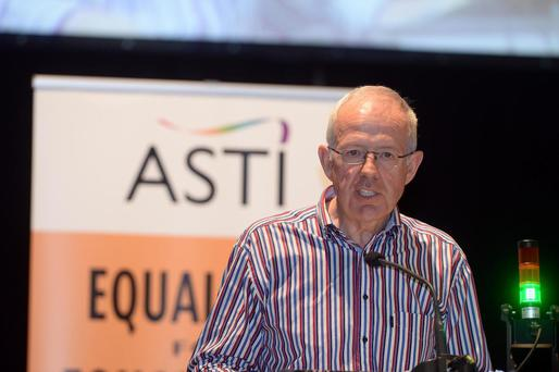 Noel Buckley at the ASTI conference Photo: Don MacMonagle