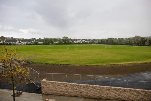 The lands at Clonkeen College in Deansgrange which have sparked controversy. Picture: Arthur Carron