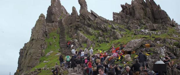 Almost 14,700 people visited Skellig Michael last year