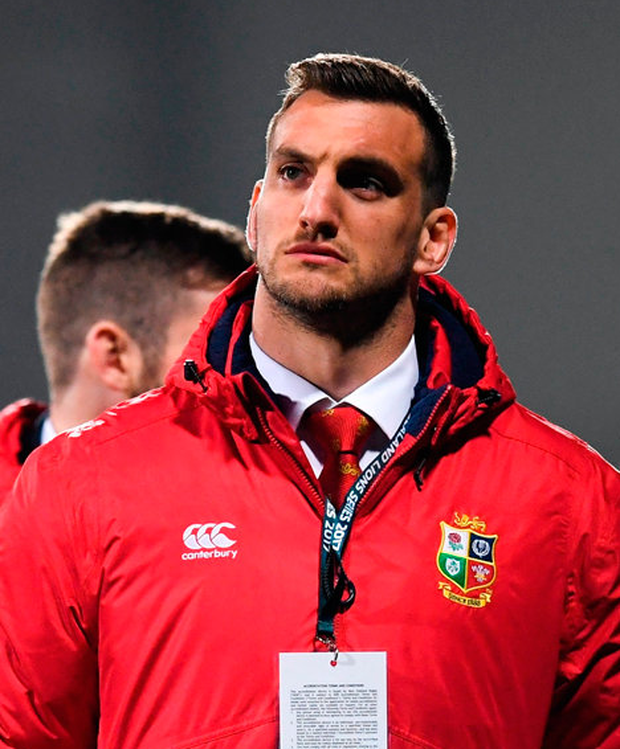 "Warburton: ""I see it as I'm tour captain, and if I make the first Test, that would be a bonus for me, but there's three Tests to get selected for, so it's not the be all and end all with the first one."