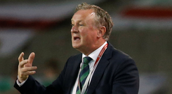 Northern Ireland manager Michael O'Neill. Photo: Reuters