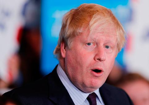 Britain's Foreign Secretary Boris Johnson Picture: Eddie Keogh