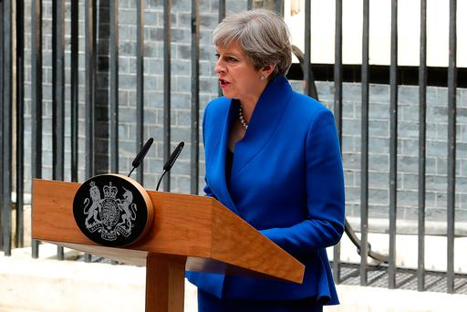 'In practice, British Conservative leader Theresa May has been defeated.' Photo: Getty Images