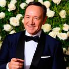 Host Kevin Spacey attends the 2017 Tony Awards - Red Carpet at Radio City Music Hall on June 11, 2017 in New York City. / AFP PHOTO / ANGELA WEISSANGELA WEISS/AFP/Getty Images