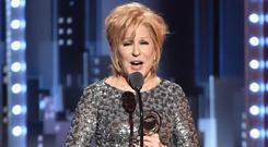 Bette Midler at the Tony Awards. PIC: Getty