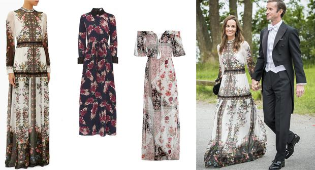 These Gunas Are The Double Of Pippas Beautiful Boho Erdem Wedding Guest Dress