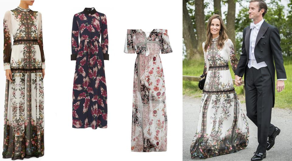 These g nas are the double of pippa 39 s beautiful boho erdem for Boho dresses for wedding guests