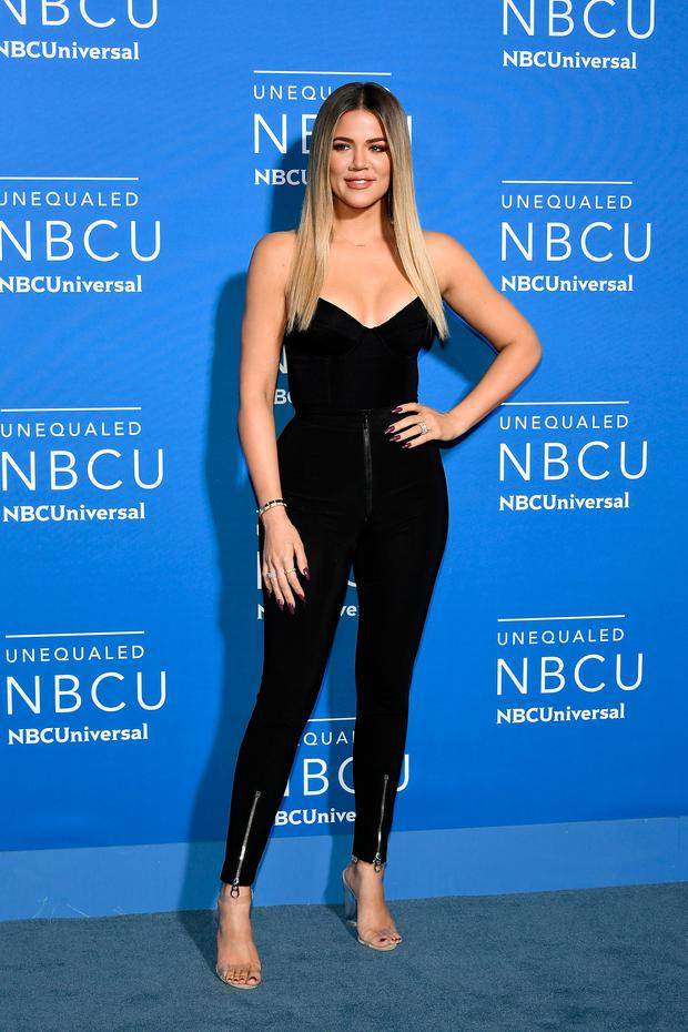 Khloe Kardashian attends the 2017 NBCUniversal Upfront at Radio City Music Hall on May 15, 2017 in New York City. (Photo by Dia Dipasupil/Getty Images)