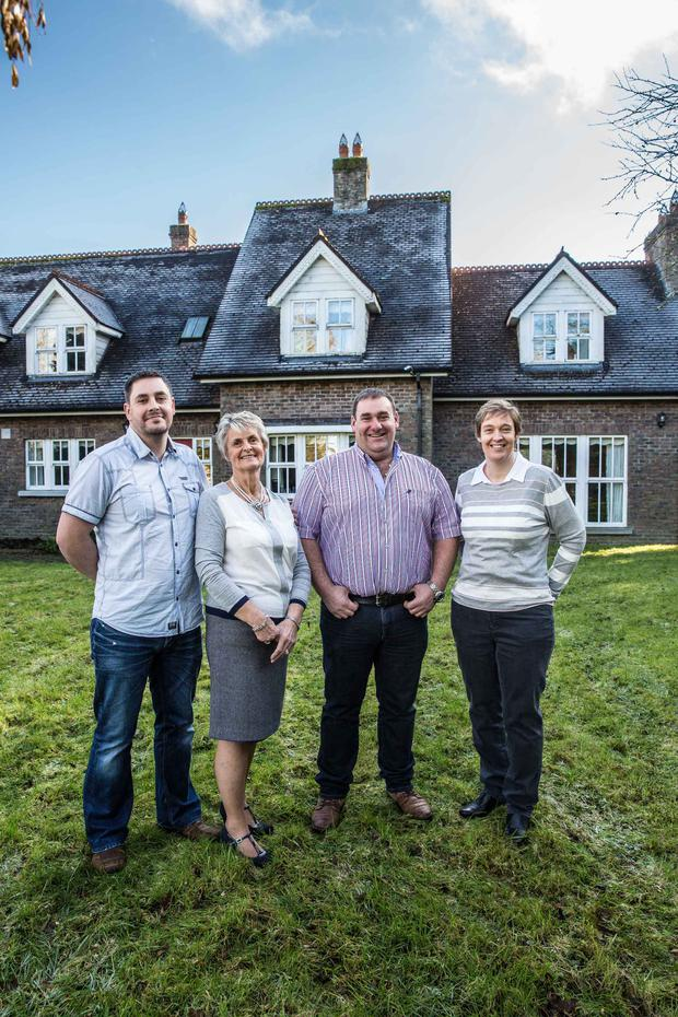Goodbye House, RTE One, The Woods family