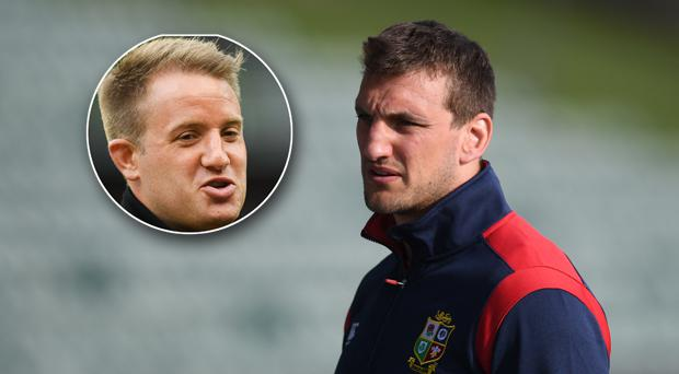 Luke Fitzgerald wouldn't have Sam Warburton in his matchday 23 to take on the All Blacks