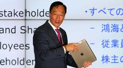 Terry Gou, Foxconn's founder and chief executive