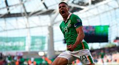 Jonathan Walters could be on his way to Burnley. Photo: REUTERS