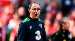 Martin O'Neill has plenty to exercise his mind as he plots the next part of Ireland's World Cup qualifying campaign. Photo: Seb Daly/Sportsfile