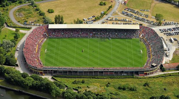 Making a mid-June deadline was always an ambitious target but Cork now hope that the stadium will be ready to host games by mid-July. Photo: SPORTSFILE