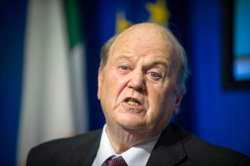 Finance Minister Michael Noonan is encouraged by the level of interest. Photo: Doug O'Connor