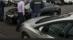 CAB are carrying out raids in a number of properties in west Dublin as part of their investigation